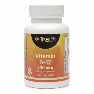 True Fit Vitamins Vitamin B-12, 500mcg