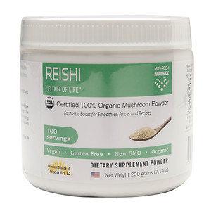 Matrix Healthwerks Inc Mushroom Matrix - Reishi Organic Mushroom Powder - 7.14 oz.