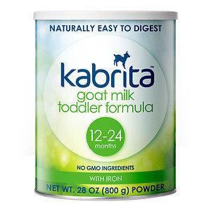 Kabrita Goat Milk Toddler Formula, 28 oz