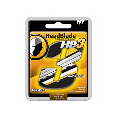 HeadBlade TripleBlade Ultimate Headcare Shaving System Kit