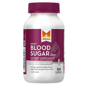 Meta Blood Sugar, 160 ea
