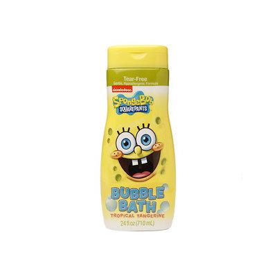 Spongebob SquarePants Tear-Free Bubble Bath, Tropical Tangerine, 24 oz
