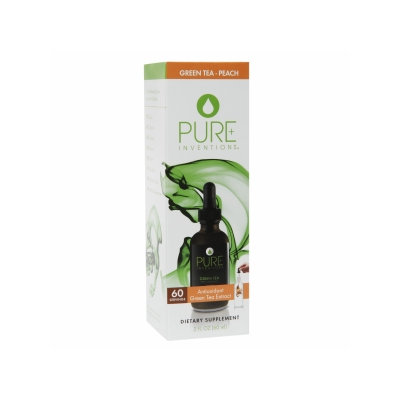 Pure Inventions Green Tea Extract Peach - 2 fl oz