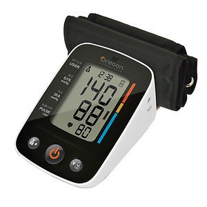 Oregon Scientific Talking Blood Pressure Monitor with Bluetooth BPU321, 1 ea