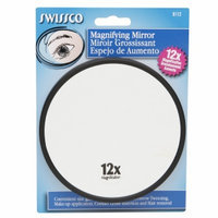 Swissco 8112 5 in. Suction Cup Mirror