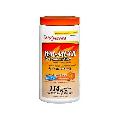 Walgreens Wal-Mucil Laxative/Fiber Supplement Powder Sugar Free