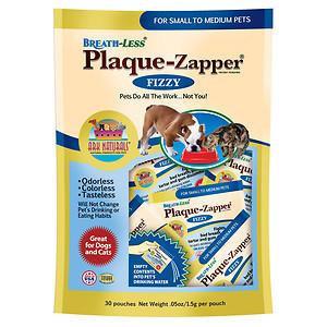 Breath-Less Plaque Zapper SM/MED Ark Naturals 30 packets Bag