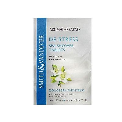 Smith & Vandiver Aromatherapes De-STRESS Spa Shower Tablets, 6 ea