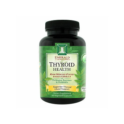 Emerald Labs Thyroid Health, 60 Capsules, Ultra Laboratories