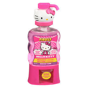 Dental Care: Firefly Hello Kitty Melon Kiss Flavor Anticavity Fluoride Rinse 14 oz