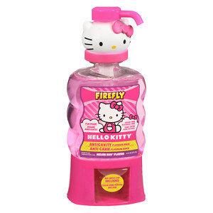 Dental Care: Firefly Hello Kitty Melon Kiss Flavor Anticavity Fluoride Rinse 14 oz