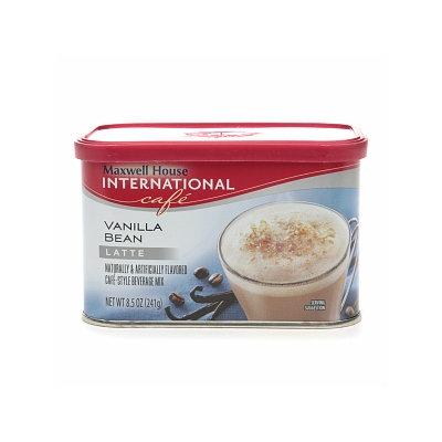 Maxwell House International Cafe Hot Latte Cafe-Style Beverage Mix, Vanilla Bean Latte, 8.5 oz