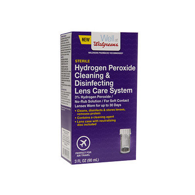 Walgreens Hydrogen Peroxide Cleaning & Disinfecting Solution, 3 oz