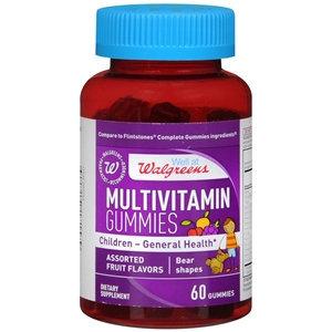 Walgreens Multivitamin Childrens Gummies Fruit