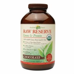 Amazing Grass Raw Reserve Greens & Protein Powder Chocolate