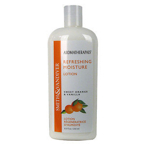 Smith & Vandiver Aromatherapaes Moisture Lotion, Sweet Orange & Vanilla, Refreshing, 8.5 fl oz