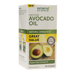 Nature's Science Avocado Oil, Softgels, 84 ea