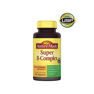 Nature Made Super B-Complex, Tablets, 60 ea