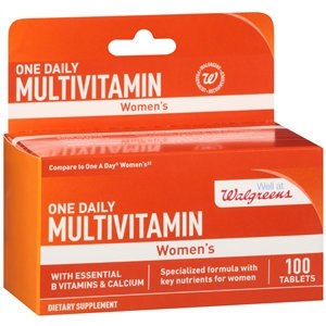 Walgreens One Daily Multivitamin Womens, Tablets