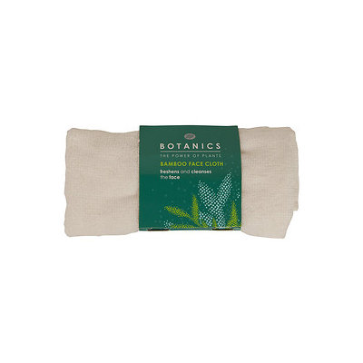 Boots Botanics Bamboo Face Cloth, 1 ea
