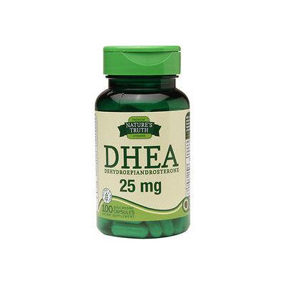 Nature's Truth DHEA Dehydroepiandrosterone 25mg, 100 ea