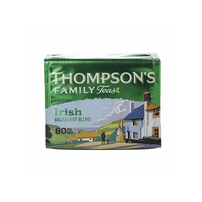 Punjana Thompson's Family Teas Tea, Irish Breakfast, 80 bags