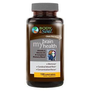 Body & Soul My Brain Health, 120 ea