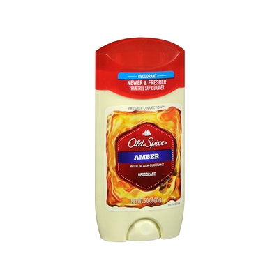 Old Spice Fresher Collection Deodorant, Scent: Amber, 3 oz