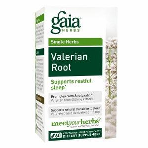 Gaia Herbs Valerian Root, Liquid-Filled Capsules