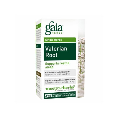 Gaia Herbs Valerian Root, Liquid-Filled Capsules