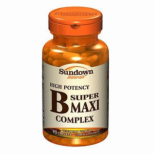 Sundown B-complex Vitamins Sundown Naturals Vitamin B Super Maxi Complex Caplets