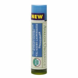Avalon Organics Refreshing Peppermint Green Tea Lip Balm