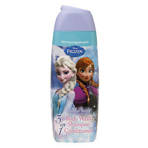 Disney Frozen 3 in 1 Body Wash, Frosted Berry, 20 oz