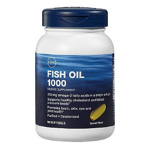 GNC Fish Oil Capsules, 90 ea