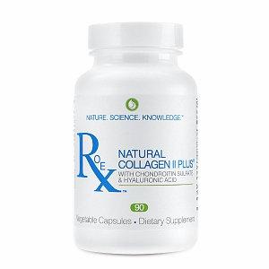 Roex Natural Collagen II Plus - 90 Vegetable Capsules