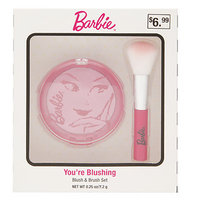 Barbie You're Blushing Blush & Brush Set, .25 oz