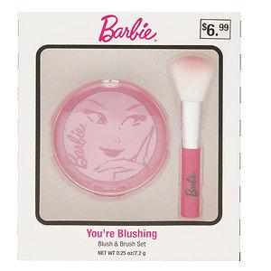 Barbie You're Blushing Blush & Brush Set, .25 oz
