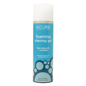 Foaming Shaving Gel Acure Organics 6.25 oz Gel