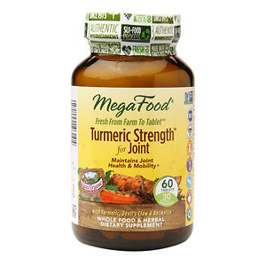 MegaFood Turmeric Strength for Joint, 60 ea
