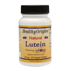 Lutein 20mg Healthy Origins 60 VCaps