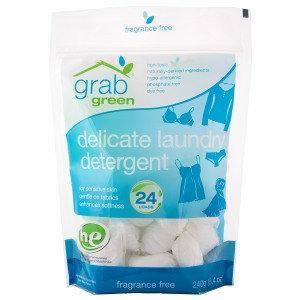 GrabGreen Delicate Laundry Detergent Pouch, 24 loads