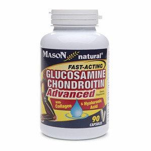 Mason Natural Glucosamine Chondroitin Advanced, Capsules, 90 ea