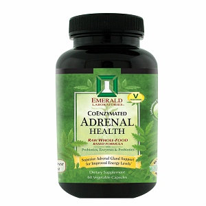 Emerald Labs Adrenal Health, 60 Capsules, Ultra Laboratories