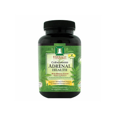 Emerald Labs Adrenal Health, 60 Capsules, Ultra Laboratories
