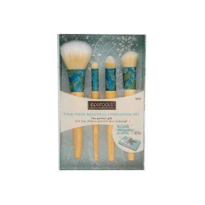 EcoTools 4-pc. Beautiful Complexion Makeup Brush Gift Set (Bamboo/Cream)