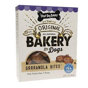 Three Dog Bakery Grrranola Bites, Granola, 13 oz