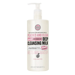 Soap & Glory Peaches And Clean(TM) Deep Cleansing Milk