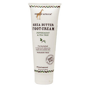 Out Of Africa - 100 Pure Shea Butter Foot Cream Peppermint & Tea Tree - 3.4 oz.