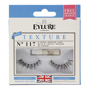 Eylure Lash Set, 1 pair, Texture, No 117, 1 ea