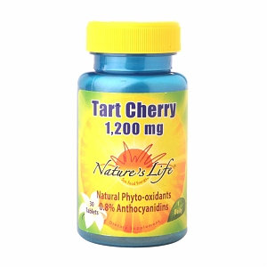 Nature's Life Tart Cherry - 1200 mg - 30 Tablets
